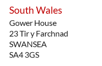 Expat Mail Centre address example - Swansea, West Wales