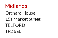 Expat Mail Centre address example - Telford, West Midlands